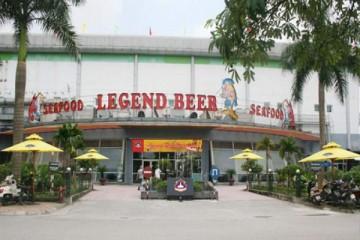 Lắp đặt Tủ đông inox Sanaky VH-1599HP cho Legend Beer Restaurant – Big C