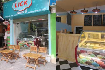Kem Ý Lick lựa chọn Tủ đông Sanaky VH-418K
